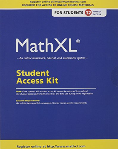 MathXL 12-month Student Access Kit