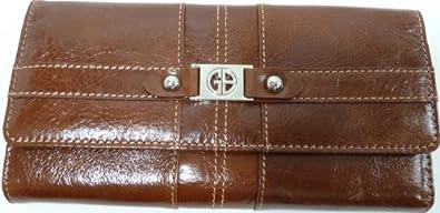 Purse Clutch Brown Giani Bernini Glazed Brown G535TB