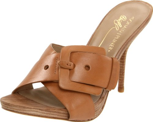 Donald J Pliner Women's Elaine Sandal,Camel Vachetta,9 M US