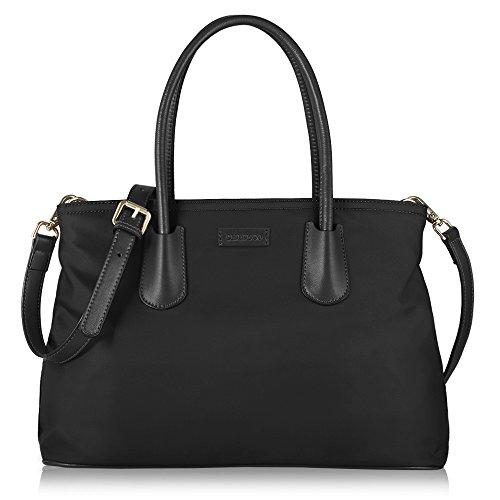 chiceco-henkeltasche-damen-leder-klein-handtasche-schwarz-klassische