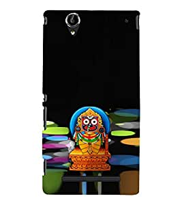 ifasho Designer Phone Back Case Cover Sony Xperia T2 Ultra :: Sony Xperia T2 Ultra Dual SIM D5322 :: Sony Xperia T2 Ultra XM50h ( Colorful Pattern Design Purple Yellow )