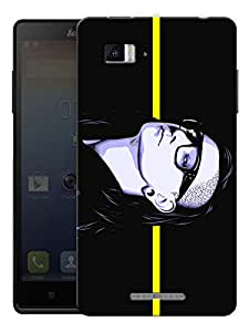 "Skrillex On A Line Printed Designer Mobile Back Cover For ""Lenovo Vibe P1"" By Humor Gang (3D, Matte Finish, Premium Quality, Protective Snap On Slim Hard Phone Case, Multi Color)"