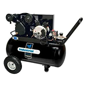 Industrial Air IP1682066.MN 1.6 Horsepower with 60-Gallon Electric and 20-Gallon Portable Air Compressor
