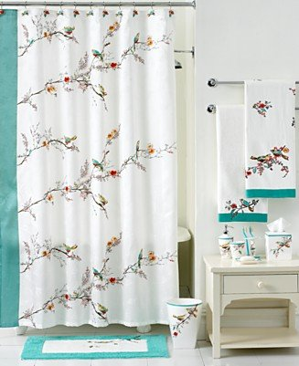 Lenox chirp bedding and bathroom accessories