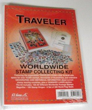 Traveler-World-Wide-Stamp-Collecting-Kit