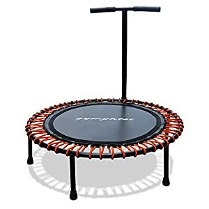 fitness power mini trampolin mit griff. Black Bedroom Furniture Sets. Home Design Ideas