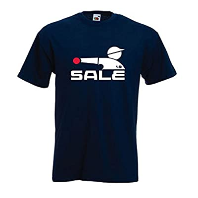 "Chris Sale Chicago White Sox ""Old School Logo Throwing"" T-Shirt"