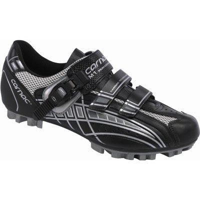 Carnac 2008 M1 Mountain Bike Shoe - Black/Gray (43.5)