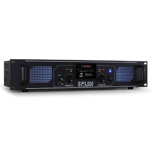 PA-HiFi-Verstrker-Skytec-SPL-500-1600W-USB-SD-MP3