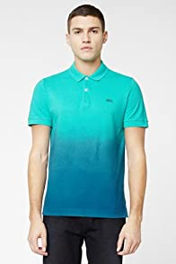 L!VE Short Sleeve Dip-Dye Polo
