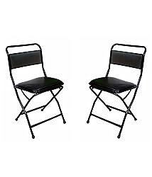 MBTC Low Back Cushion Folding Chair ( set of 2 )