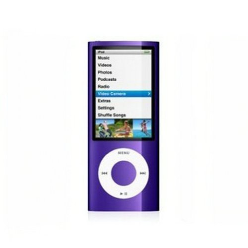 "Ayangyang 1.8"" LCD Card Slot Mp3 Mp4 Player Video Fm Radio Picture E-book Support 2g,4g,8g,micro Sd Card Tf Memory Card (Memory NOT Include) Purple"