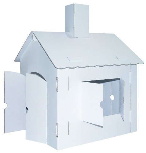 Joypac - Casa de juguete de cárton para exteriores (39106)