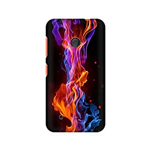 Mobicture Flame Abstract Premium Printed Case For Nokia Lumia 530