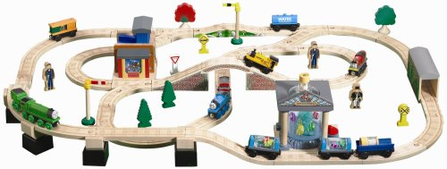 thomas the train wooden shed hanike. Black Bedroom Furniture Sets. Home Design Ideas