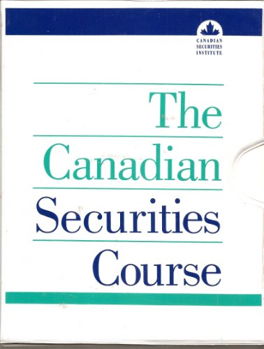 canadian securities course Flashcards and Study Sets | Quizlet