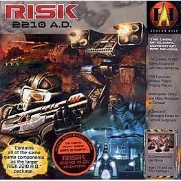 Risk 2210 AD board game!