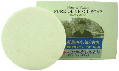 バロッグ夫婦の手作りオリーブオイル石鹸 ペパーミント 100g
