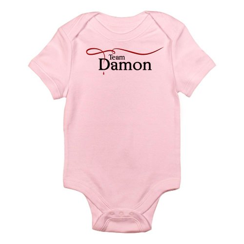 [CafePress - Vampire Diaries Team Damon Infant Bodysuit - Cute Infant Bodysuit Baby Romper] (Vampire Suit)