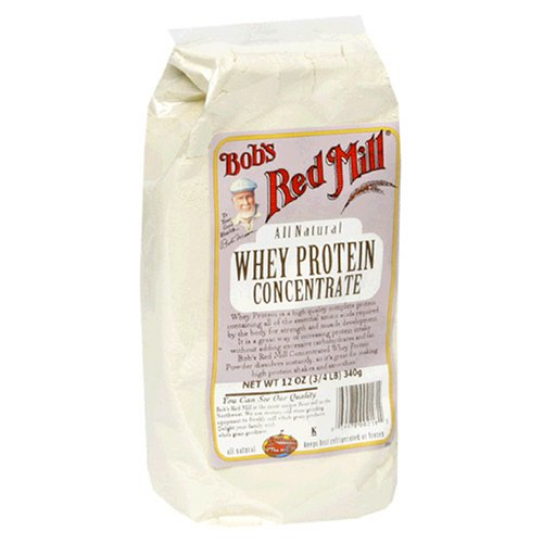 Bob's Red Mill All Natural Whey Protein Concentrate, 12-Ounce Packages (Pack of 4)