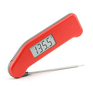 ThermoWorks Super-Fast Thermapen (Red) Professional Thermocouple Cooking Thermometer