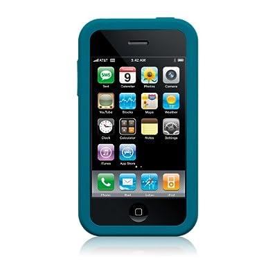 Simplism Silicone Case for iPhone Blue [iPhone用シリコンケース ブルー] ストラップホール付き