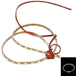 1210 SMD 60 LED Car Strip Lights (45cm) White