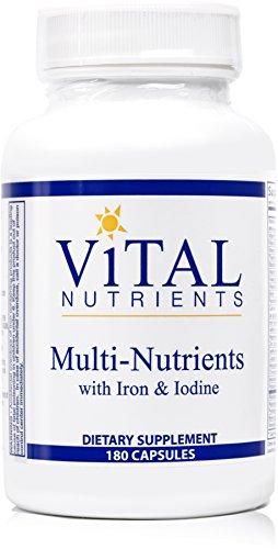 Vital-Nutrients-Multi-Nutrients-with-Iron-Iodine-Comprehensive-Multi-VitaminMineral-Formula-Containing-Iron-and-Iodine-180-Capsules
