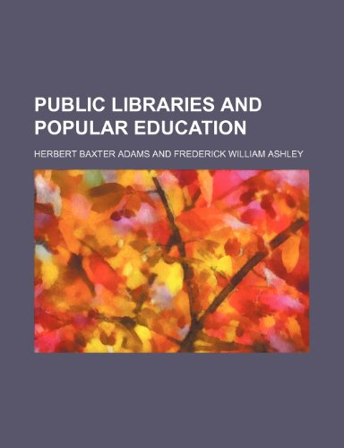 Public libraries and popular education