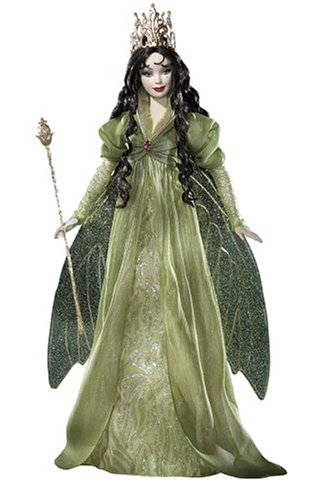 Legends-of-Ireland-Brunette-Faerie-Queen-Platinum-Label-Barbie-Limited-Edition-of-500-by-Mattel