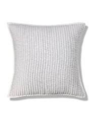 Autograph Pure Silk Stab Stitched Cushion