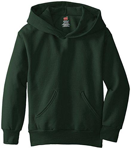 hanes-big-boys-eco-smart-fleece-pullover-hood-deep-forest-large