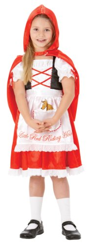 Rubies Little Red Riding Hood Costume For Girls Small Age 3-4 Years (R883978S)