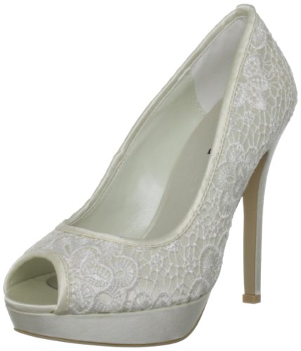 Menbur Wedding Women's Raquel Ivory Bridal 04986X904 6 UK