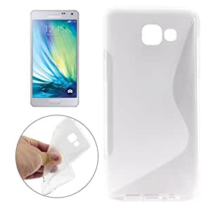 Crazy4Gadget For Samsung Galaxy A5(2016) / A510 Ultrathin S-Shaped Soft TPU Protective Cover Case(Transparent)