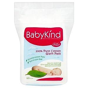 Babykind gigantes Algodones 40 por paquete - BebeHogar.com