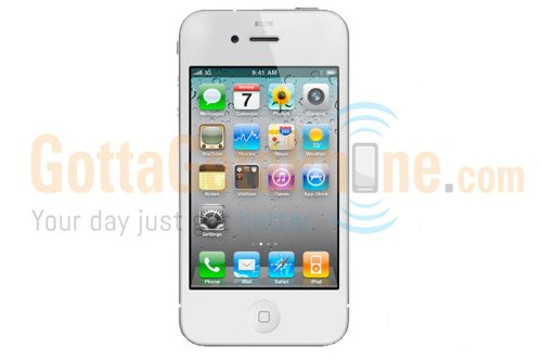Apple iPhone 4 16GB White AT&T [Non-retail Packaging] image