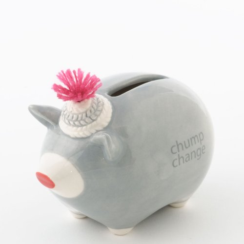 Money Talks Piggy Bank - Small Change - Chump Change