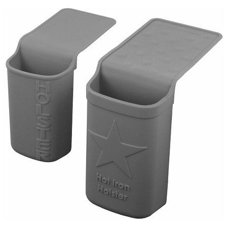 Hot Iron Holster Value Pack - Earth Gray - Perfect for Curling Irons (Iron Brand compare prices)