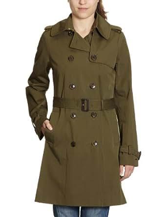 Tommy Hilfiger Damen Trench Coat 1M87603103 / NEW CLASSIC TRENCH, Gr. 40 (L), GrÃ1/4n (HAMPTON OLIVE 312)