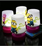 New Despicable Me Minions Action Figure mini LED Light Night Stand Light for Light Room Decoration - Gift Kids Toy