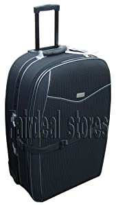 "31"" (110 Litres) Wheeled Trolley Suitcase Strong Luggage Expandable Amazing Offer from Elegant"