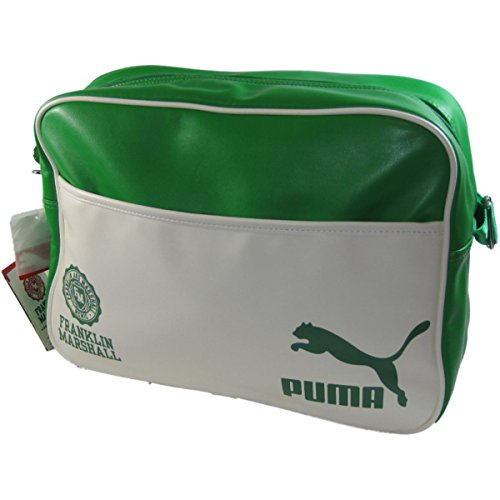 puma-franklin-marshall-reporter-pu-zip-shoulder-strap-bag-green-white