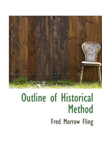 Outline of Historical Method