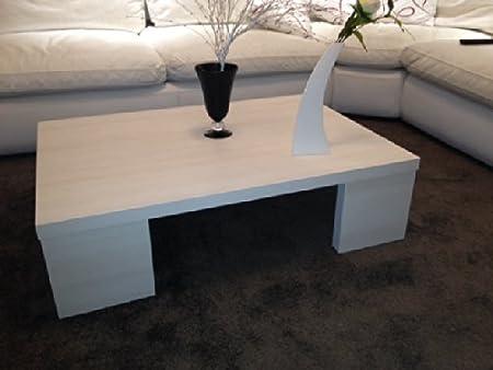 VE.CA-ITALY Tavolino Moderno Basso Salotto Moderno In Legno Bianco modern coffe