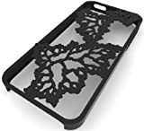 3D Printed Fractal Leaves iPhone 5 Case, Black