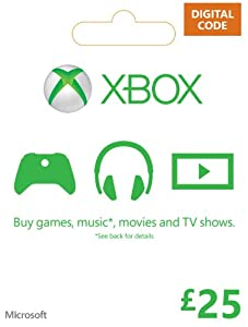 Xbox Live £25 Gift Card [Online Game Code]