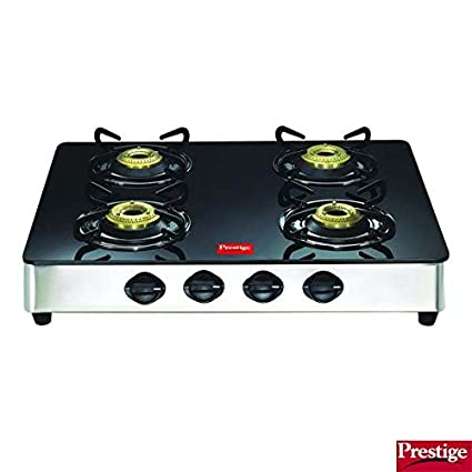Prestige GT 04 SS Gas Cooktop (4 Burner)