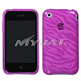 Candy Skin Case / Crystal Jelly Executive Cover (Hot Pink Zebra)