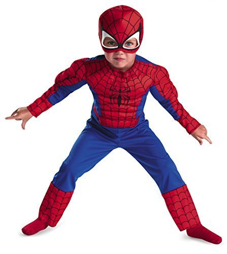 Spiderman Toddler Size: 3T-4T (Red/Blue) Size: Size 3T-4T Model: 50122M-I